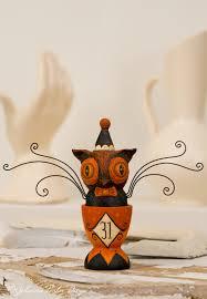 Vintage Halloween Owl by Halloween Folk Art U2014 Johanna Parker Design