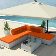 White Patio Furniture Sets Orange Patio Furniture Sets Foter