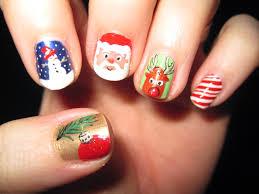 easy christmas nail art for short nails photo album cerene