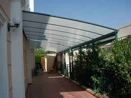 How To Cover A Pergola From Rain by Pergola Roof Cover Made From Polygal Sheets Plastic Patio Cover