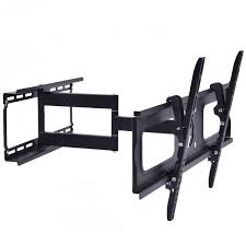 full motion tv wall mount 60 inch dual arm full motion tilt lcd led tv wall mount bracket 36 42 46