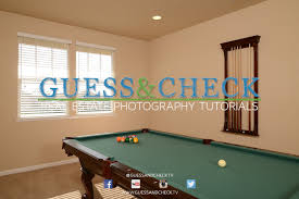 how to photograph a game room with a pool table youtube