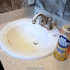Best Way To Clean A Bathroom The Easiest And Best Way To Clean A Porcelain Sink