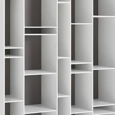 modular bookcase contemporary lacquered mdf random by