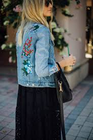 best 25 embroidered denim jacket ideas on pinterest denim