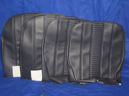9 sc206 pair midget vinyl front recliner seat covers 1970 on