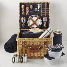 picnic gift basket canterbury picnic basket williams sonoma