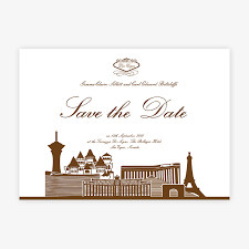 vegas wedding invitations las vegas wedding invitations save the date las vegas in