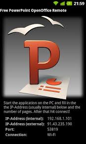 openoffice for android your powerpoint presentations on open office with your android device