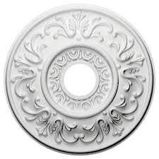 Ceiling Medallions Lowes by Ekena Millwork Valletta 18 U0027 U0027h X 18 U0027 U0027w X 1 U0027 U0027d Ceiling Medallion