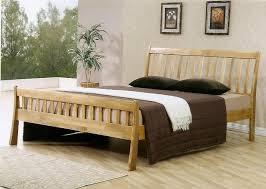 light wood picture frames rockingham wooden double bed frame light oak finish