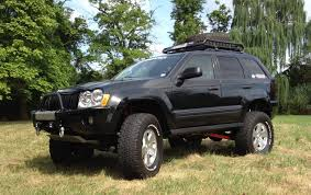 lifted jeep nitro jeep grand cherokee wk 8in lift kit