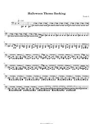 halloween theme song music sheets u2013 fun for halloween