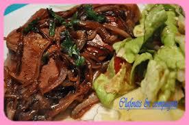 cuisiner du foie foie de veau au porto clafoutis compagnie