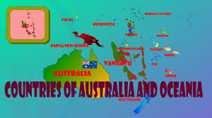 Map Of Oceania Countries Of Australia And Oceania Learn The Countries Of The