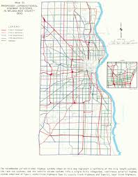 Highway Map Of Wisconsin by Books And Sewrpc Reports