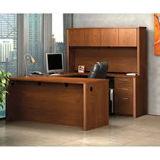 bestar embassy officepro 60000 u shaped desk tuscany brown