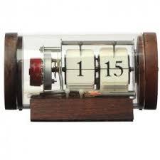 Wood Desk Clock Contemporary Desk Clocks Foter