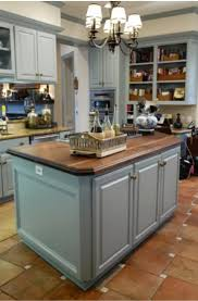 light grey kitchen cabinets with wood countertops 31 kitchens with butcher block countertops sebring design