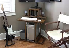 Space Saving Corner Computer Desk Space Saving Computer Desks Smart Furniture