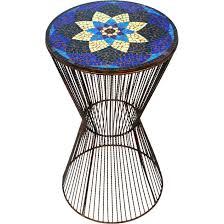 Mosaic Accent Table Marvelous Mosaic Accent Table Flower Mosaic Accent Table Ten