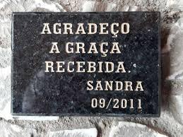 Conhecido LOJA SETE - PLACAS PARA TÚMULOS EM CURITIBA, mármore, granito  #DI67
