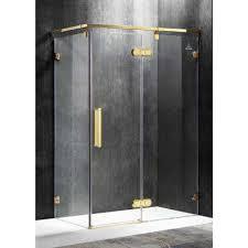 Gold Shower Doors Gold Shower Doors Showers The Home Depot