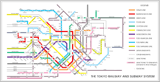 Osaka Subway Map by Tokyo Railway And Subway Map U2022 Mapsof Net