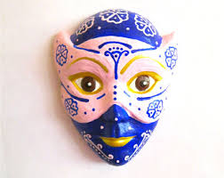 ceramic mardi gras masks pink venetian mask etsy
