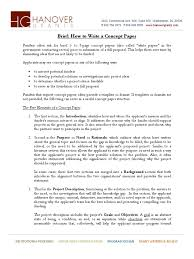 how to write review paper write concept paper