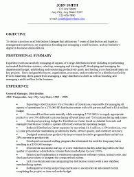 general resume samples u2013 resume format 2017 throughout warehouse