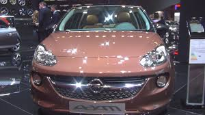 opel pink opel adam glam 1 4 64 kw 2016 exterior and interior in 3d youtube