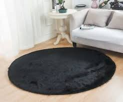 Solid Black Area Rugs Solid Black Area Rug Carpet Rugs Floor Decor Modern Living