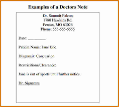 6 fake drs note authorization letter