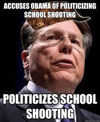 Obama Shooting Meme - accuses obama of politicizing school shooting politicizes school