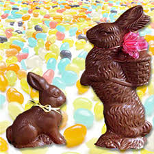 s chocolate bunnies chocolate bunnies filled with jelly beans easter specialties