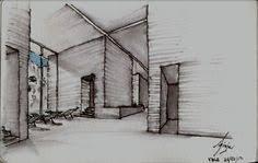 termas de vals peter zumthor sketch arquitectura croquis