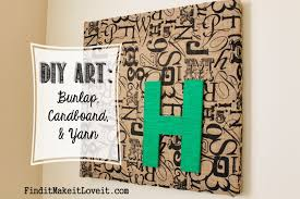 10 awesome diy home decor burlap projects crafts a la mode