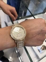 crystal gold bracelet images Etop brand new michael kors crystal gold watch bracelet mk5061 jpeg