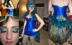 peacock costume makeup haloween ideas pinterest costume