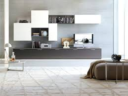 Wall Cabinets For Living Room Furniturefloating Modern Storage Wall Unit On Grey Floating