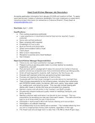 Tax Lawyer Job Description Duties Of A Cook Resume Cv Cover Letter