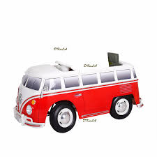 electric volkswagen van rollplay 6v kids electric vw volkswagen bus battery powered ride