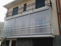 verande balconi chiusura completa balcone con tenda veranda invernale ermetica 3
