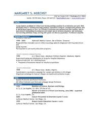 Examples For Resume by Resume Examples Example Of Resume By Easyjob The Best Free