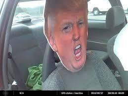 spirit halloween auburn ca auburn hov lane cheater nabbed with cardboard cutout of trump