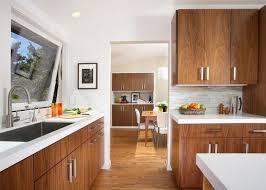 mid century modern walnut kitchen cabinets mid century modern kitchen flooring mid century modern