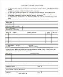 sample purchase request form 10 free documents in word pdf