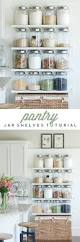 Kitchen Wall Shelf 25 Best Diy Kitchen Shelves Ideas On Pinterest Open Shelving