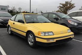 curbside classic 1990 honda civic crx si u2013 a little zip on the